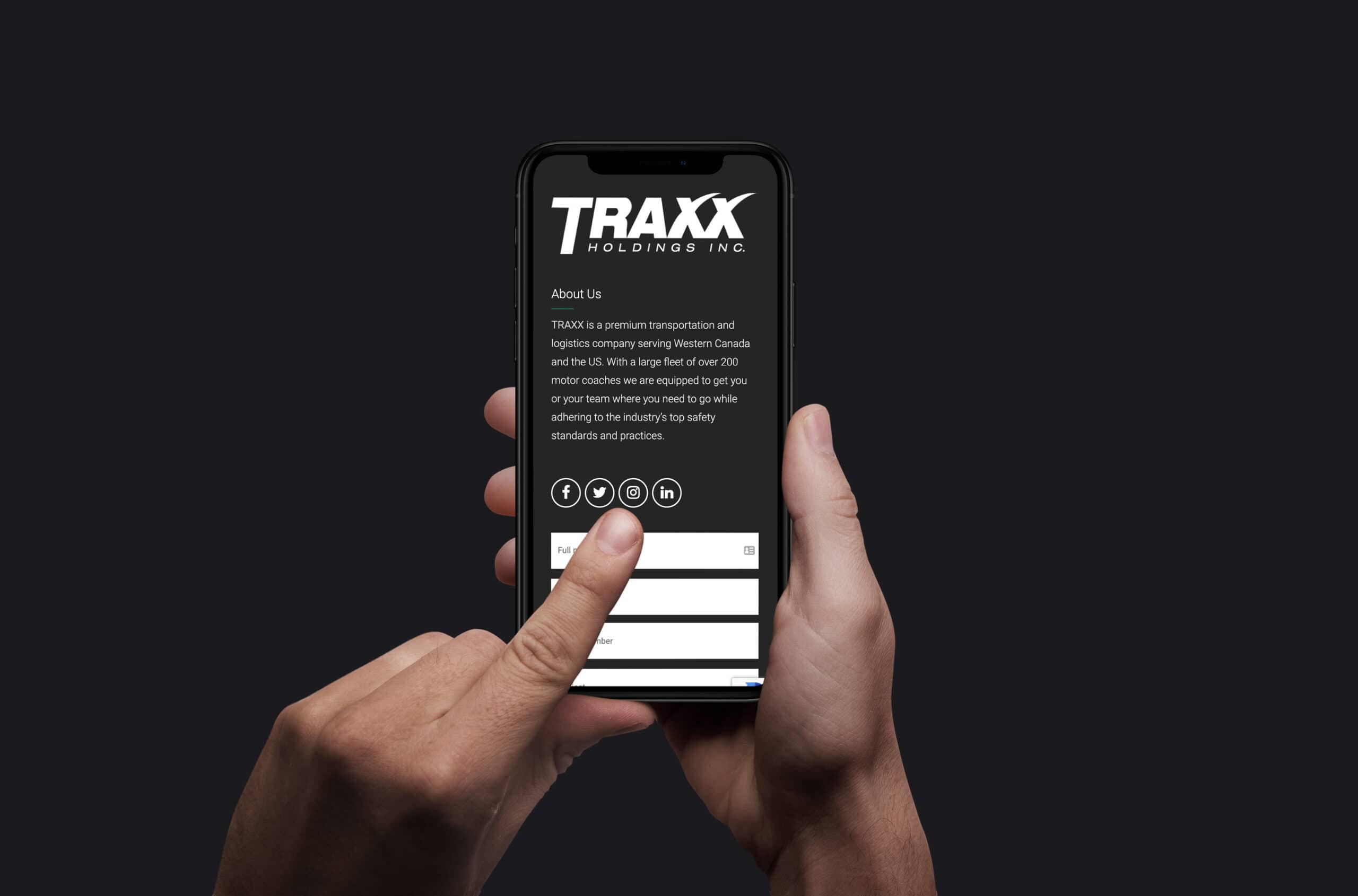 TRAXX Holdings